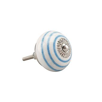 CGB Giftware Blue Spiral Drawer Handle