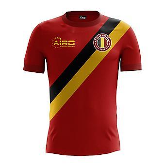 2018-2019 Belgien hjem koncept fodbold Shirt (børn)