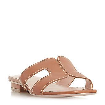 Mesdames dune LOUPE Smart Slider sandale du bronzage