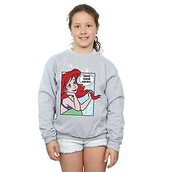 Disney Princess Girls Ariel Pop Art Sweatshirt
