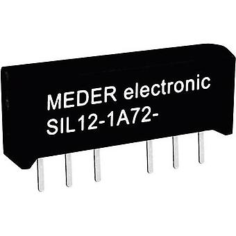 Reed relay 1 maker 12 Vdc 1 A 15 W SIL 4