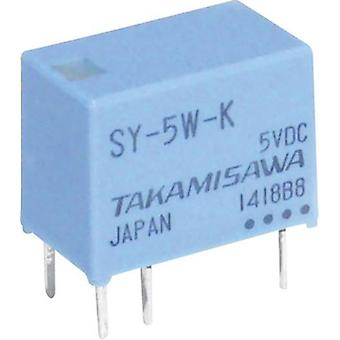 PCB relays 5 Vdc 1 A 1 change-over Takamisawa SY-0