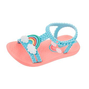 Baby My First Ipanema Rainbow Sandals Infant Girl Flip Flops - Sky Blue
