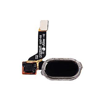 ONEPlus 3 reparere Hjem knapp Flex-kabelen kabel reservedeler nye svart topp