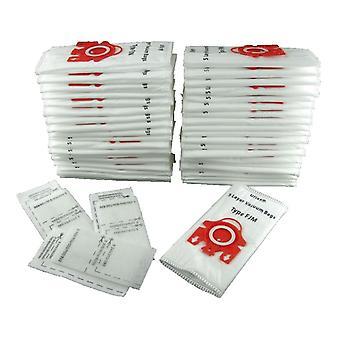 Worki próżniowe Miele, wpisz FJM (czerwona karta) X 500 + filtry