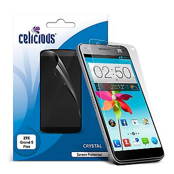 Celicious Vivid Invisible Screen Protector for ZTE Grand S Flex [Pack of 2]
