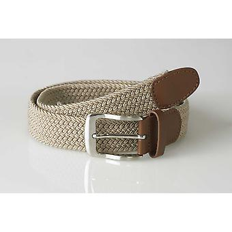 Duke Mens Frank Stretch Braided Belt