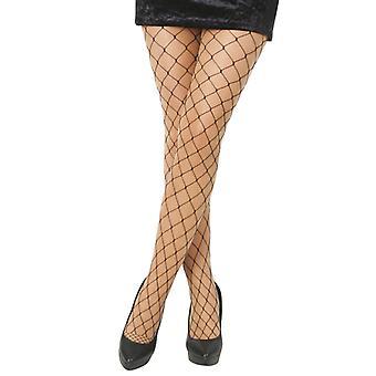 Fishnet tights grobmaschig ladies