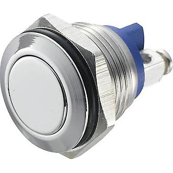 TRU COMPONENTS GQ 16F-S Tamper-proof pushbutton 48 Vdc 2 A 1 x Off/(On) IP65 momentary 1 pc(s)