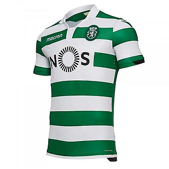 2018-2019 Sporting Lisbon Authentic Home Match Shirt