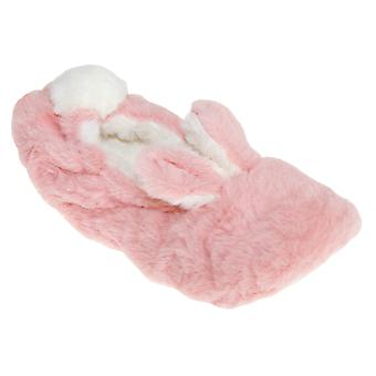 Slumberzzz Womens/Ladies Bunny Ballerina Slippers