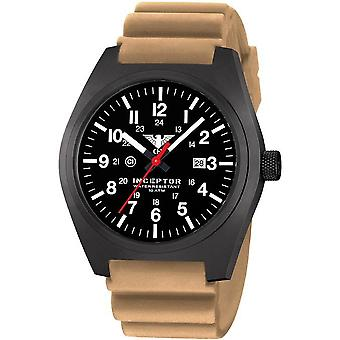 KHS acero interceptor negro reloj de KHS. INCBS. DT