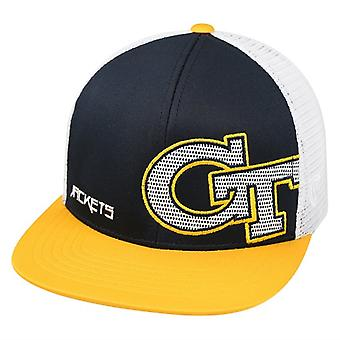 Georgia Tech Yellow Jackets NCAA TOW Banshee Flat Bill Snapback Hat