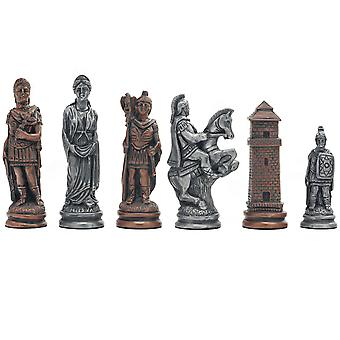 Berkeley Chess Roman Metallic Chess Men