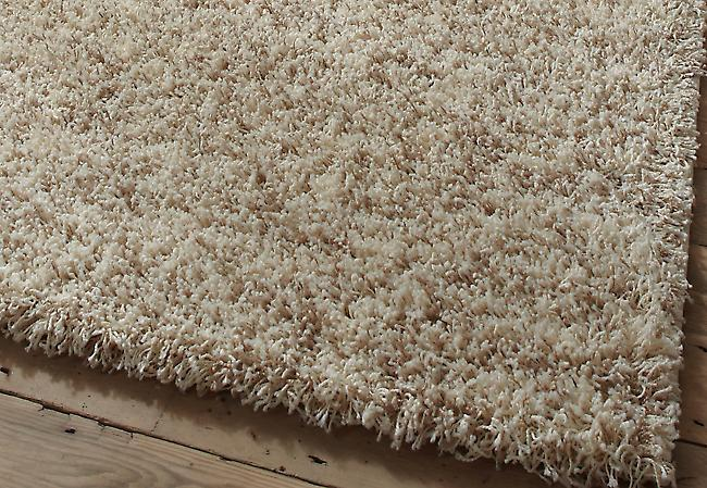 Vista - Plain 4803 Cream Cream made up of Biege and Ivory threads  Rectangle Rugs Plain/Nearly Plain Rugs
