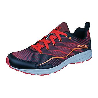 Merrell Trail Crusher Mens Running Trainers / Shoes - Red