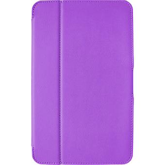 Verizon Ellipsis 8 Folio Case, Stylus Pen and Screen Protector Bundle - Purple