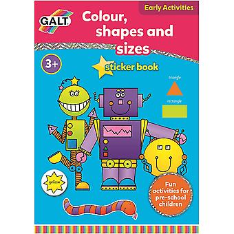 Galt Colour, Shapes and Sizes Book