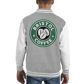 Bristol Kaffee Starbucks Kid Varsity Jacket