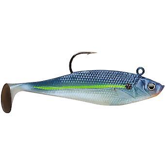 Storm Wildeye Swim Shad 3 pulgadas Señuelos de la pesca (3-Pack) - azul acero Shad