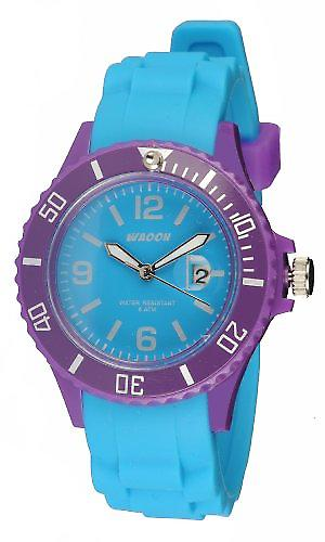 Waooh - Watch Monaco38 - Bicolore & Purple