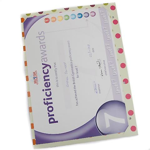 My Proud Moments Certificate Holders Extra Pages (Pack of 4) - Spotty