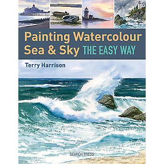 Pintura acuarela mar y cielo la manera fácil de Terry Harrison - 97818