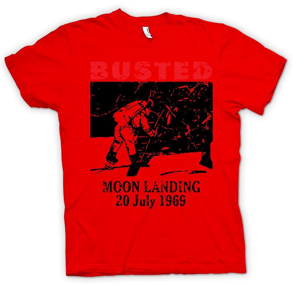 Mens T-shirt - Moon Landing Hoax 1969 - Conspiracy