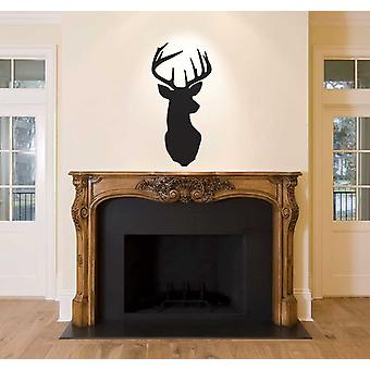 Stag Head Buck Deer Wall Sticker