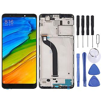 For Xiaomi Redmi 5 Repair screen LCD complete unit touch with frame black replacement