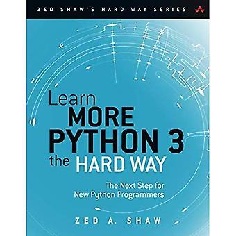 Leer meer Python 3 the Hard Way: de volgende stap voor nieuwe Python programmeurs