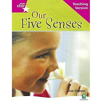 Our Five Senses: Pink Level Non-fiction (Rigby Star Guided)