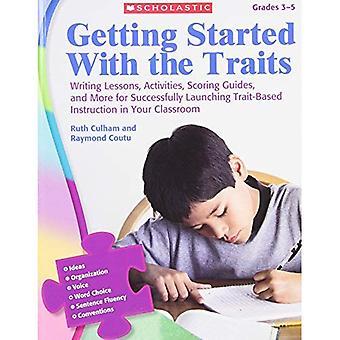 Komma igång med drag, årskurs 3-5: skriva lektioner, aktiviteter, Scoring guider och mer för framgångsrikt lansera drag-baserade instruktion