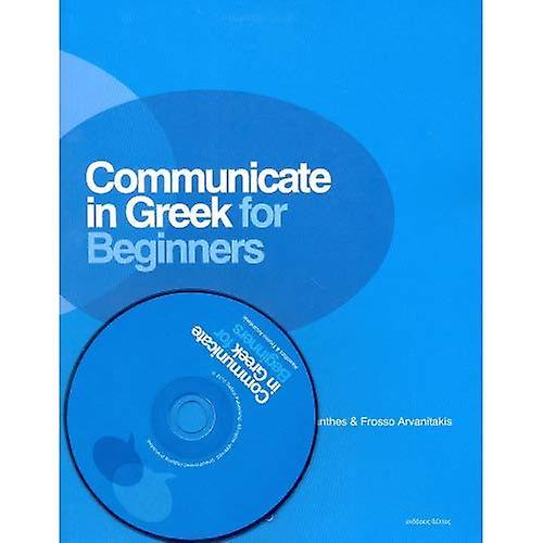 Communicate in Greek for Beginners (Book & CD)