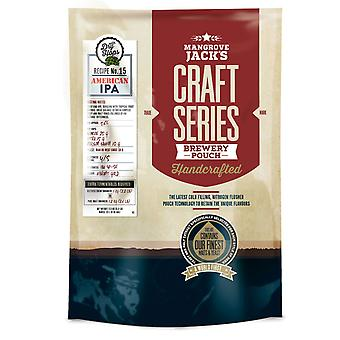 Mangrove Jack's Craft Series American IPA Beer Kit + dry hops - 2.5kg
