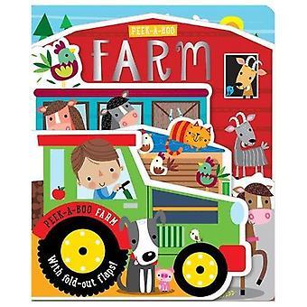 Peek-a-Boo Farm [Board book]