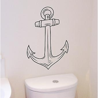 Ship's Anchor wall art sticker