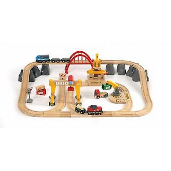 BRIO 33097 Deluxe Railway Set in a Tub