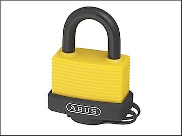 ABUS 70AL/45 45mm Aluminium Padlock Yellow 50265