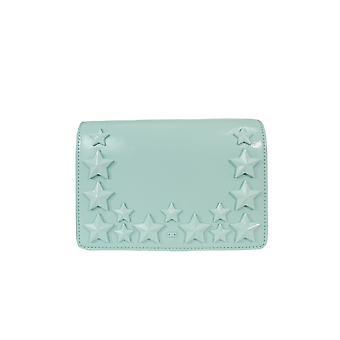 Elisabetta Franchi Tiffany Licht blau Lederumhängetasche