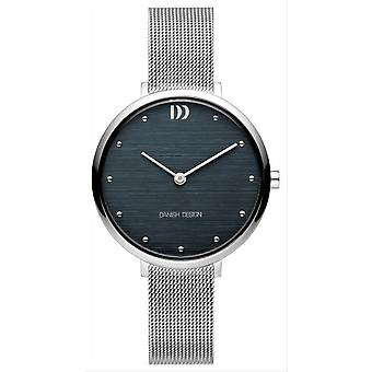 Orologio di design danese pure Amelia-grigio/marrone
