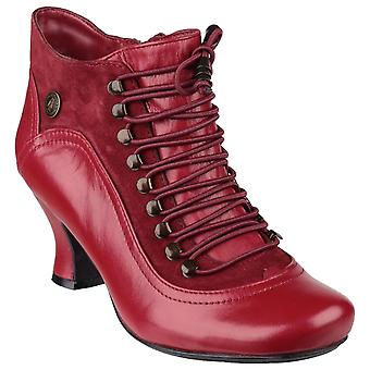 Hush Puppies Womens/Ladies Vivianna Leather Lace Up Heeled Boot