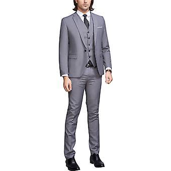 Allthemen Men-apos;s 3-Piece Suits Business Casual Dinner Party Blazer et Vest et Pantalon