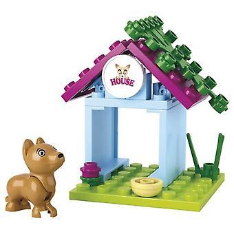 حلم صلبان الفتيات الكلب مع كاسيتا 19 قطعة (الرضع والأطفال، لعب أطفال، الإنشاءات)