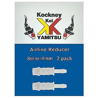 Kockney Koi 8mm - 4mm Airline Reducer (2pk)