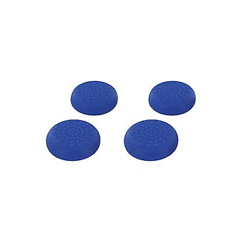 Tpu thumb grip stick caps for sega dreamcast controllers - 4 pack blue