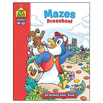 Activity Workbooks 32 Pages Mazes Preschool Ages 4 6 Szact 02196