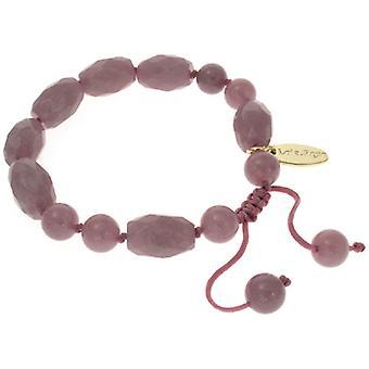 Lola Rose Esmee Bracelet Elderberry Quartzite