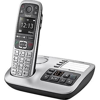 Cordless analogue Gigaset Answerphone, Hands-free, Visual call notification Platinum