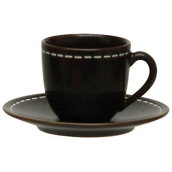 Avet Coffee Cup With Plate 120 Ml September 6